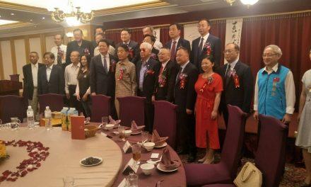 江蘇鹽城同鄉會六十年慶,大陸鹽城組團來祝賀!