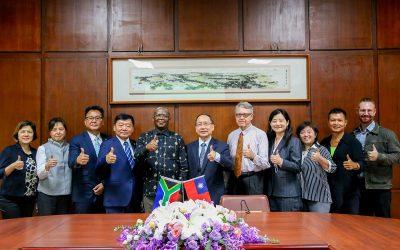 南非聯絡辦事處代表訪東海大學雙方洽談兩國學術合作