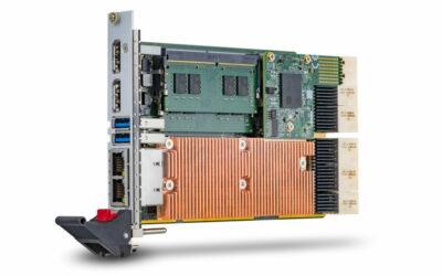 凌華科技推出搭載第9代英特爾Xeon®和Core™ i7處理器CompactPCI® Serial工業標準之單板電腦
